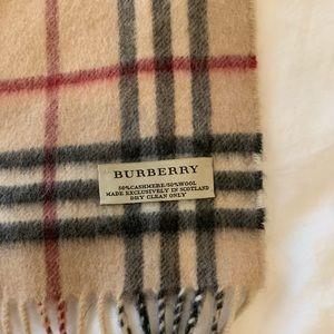 men's burberry cashmere scarf